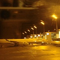 在飛機上拍慕尼黑的機場