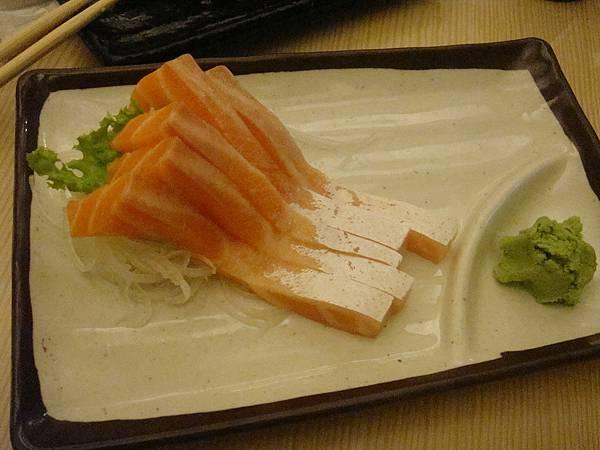 鮭魚肚生魚片
