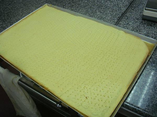 杏仁酥餅底層