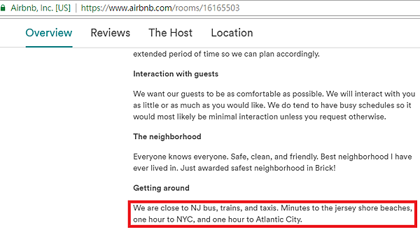AirBnb Fake Ad