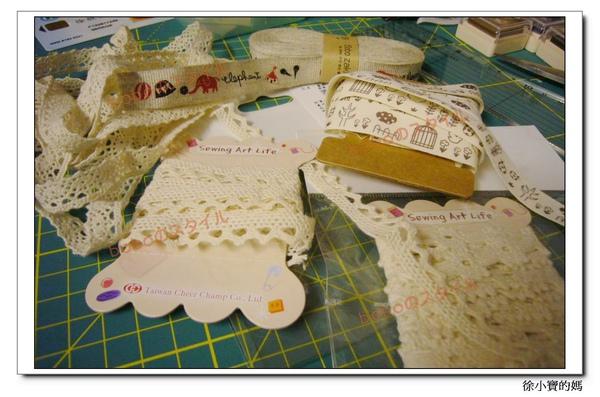 選用日本棉麻布邊及布標