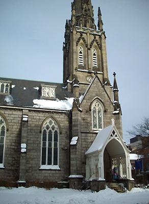 家裡附近的教堂