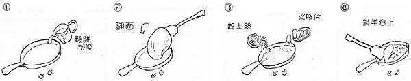 起士火腿薄餅 step by step