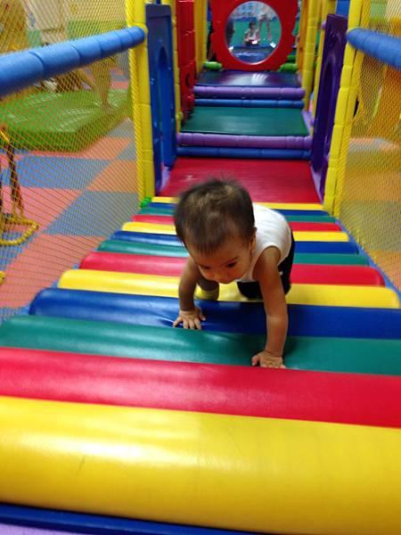 爬爬爬彩色滾筒