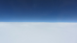 飛機上看到的景色