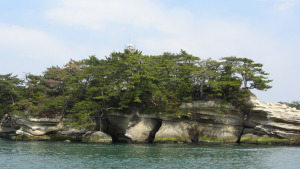 松島群島中的特殊小島