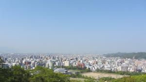 松山城看到的景色