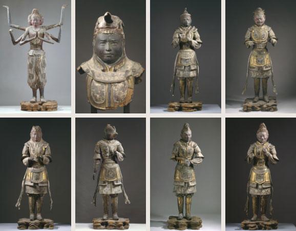 乾漆八部衆立像