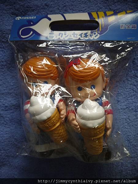 日本日世(NISSEI)i霜淇淋公仔(p006095)