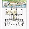 鉅虹建設「鉅虹雲山」2011-03-03 16-2樓景觀公設動線參考平面圖.jpg