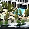 [竹北] 豐邑建設「明日軸」2012-04-03 006 中庭鳥瞰