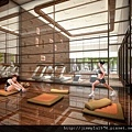 [竹北] 豐邑建設「明日軸」2012-04-03 012 健身房