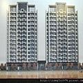[竹北] 坤山建設「坤山科達」2012-04-18 001 外觀透視參考圖
