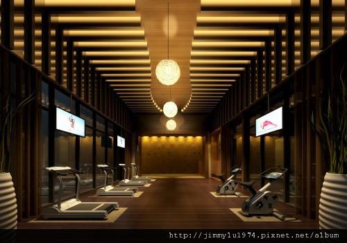 [竹北] 盛亞建設「千葉美家」2012-04-24 005 健身房