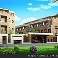 [新竹] 雄基建設「朗擎天」2012-05-11 001 社區外觀透視參考圖