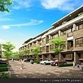 [新竹] 雄基建設「朗擎天」2012-05-11 002 社區中庭透視參考圖