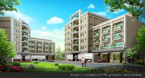 [新竹] 天竹建設「夏之悅」2012-06-22 001 外觀透視參考圖