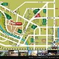 [新竹] 天竹建設「夏之悅」2012-06-22 002 生活機能參考圖