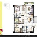 [新竹] 天竹建設「夏之悅」2012-06-22 009 A6平面參考圖