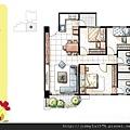 [新竹] 天竹建設「夏之悅」2012-06-22 016 B6平面參考圖