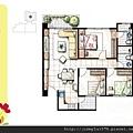 [新竹] 天竹建設「夏之悅」2012-06-22 015 B5平面參考圖