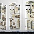 [新竹] 富立建設「富綠美地」簡銷翻拍2012-07-23 003 1-3F家配