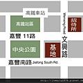 [竹北] 惠友建設「惠友紳」2012-07-24 002 基地與接待中心位置參考圖