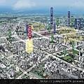 [新竹] 富源建設「牡丹凰居」2012-07-17 002 空拍合成參考圖