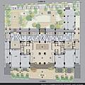 [竹北] 德鑫機構‧巨寶建設「德鑫V1」2012-07-23 005 1樓全區平面考圖