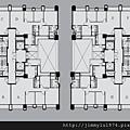 [竹北] 德鑫機構‧巨寶建設「德鑫V1」2012-07-23 008 25樓標準層平面參考圖
