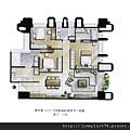 [新竹] 富宇建設「富宇九如」2012-08-15 008 A5戶平面參考圖