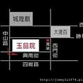 [新竹] 橋達建設「玉品院」2012-08-26 014 基地與接待中心位置示意圖