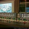 [竹北] 閎基開發「世界雲」2012-10-16 002 外觀參考模型