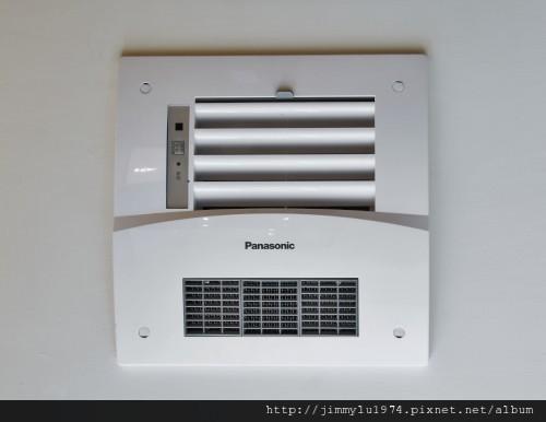 [竹北] 富宇建設「東方之星」建材設備 2012-11-09 014 Panasonic暖風機