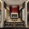 [竹北] 富宇建設「水舍秀樹」2012-11-13 005 撞球室透視參考圖