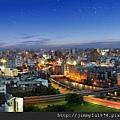 [竹北] 佳泰建設「全民時代」2012-12-11 012 面東夜景
