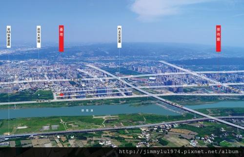[竹北] 竹益建設「時上S」2012-12-21 001 空照圖