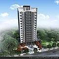 [竹北] 竹益建設「時上S」2013-01-08 外觀透視參考圖