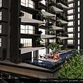 [竹北] 竹星建設「竹北之星」外觀參考模型 2013-03-06 006