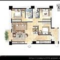 [竹北] 寶誠建設「時尚鉑晶」平面參考圖 2013-03-11 002