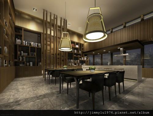 [竹北] 富宇建設「東方之星」2013-03-16 005 圖書室透視參考圖