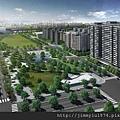 [竹北] 國泰建設「國泰Twin Park」2013-04-08 002 區位鳥瞰透視參考圖