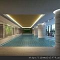 [竹北] 國泰建設「國泰Twin Park」2013-04-08 006 泳池透視參考圖