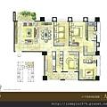 [竹北] 佳泰建設「大砌磐峰」2013-04-29 002 A1戶平面參考圖