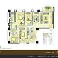 [竹北] 佳泰建設「大砌磐峰」2013-04-29 003 A2戶平面參考圖