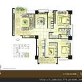 [竹北] 佳泰建設「大砌磐峰」2013-04-29 005 B2戶平面參考圖