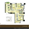 [竹北] 佳泰建設「大砌磐峰」2013-04-29 007 C2戶平面參考圖