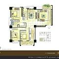 [竹北] 佳泰建設「大砌磐峰」2013-04-29 006 C1戶平面參考圖