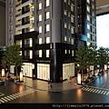 [頭份] 美居建設「美居仰森」2013-04-30 005 外觀參考模型