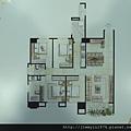 [頭份] 美居建設「美居仰森」2013-04-30 008 A1戶平面參考圖